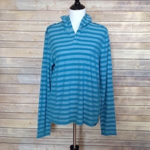 G by Guess long sleeve blue hoodie
